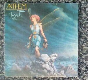 Toyah-Anthem-1981-Safari-Records-With-Lyric-Sheet-Vinyl-LP