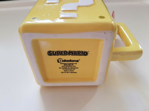 Super mario mug tasse block question Paladone Céramique neuf