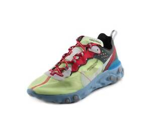 195940ac31a3 Nike Mens React Element 87 X Undercover Volt University Red-Black ...