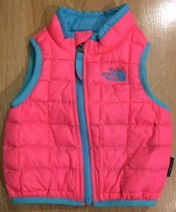 11f35a6a5a9a The North Face Thermoball Down Vest Baby Toddler Size 6 12 Months ...