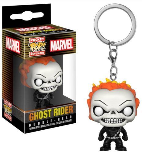 Marvel Comics Ghost Rider Pop Keychain