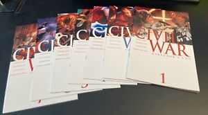24 Marvel CIVIL WAR! •1-7 •Frontline 1-11 +Opening/Ch. Sides/Initiative/Return++