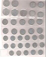 1, 2 und 5 Francs Frankreich (France) 1938-1948 (ss-vz.)