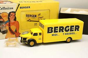 Corgi-Heritage-1-50-Berliet-RL-Furgone-Berger