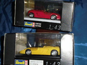 Modellauto-Revell-Limited-Edition-1-43-FERRARI-MYTHOS-gelb-rot-ovp