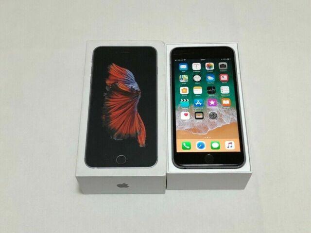 Apple IPHONE 6s - 64GB - Gris Espace - (Débloqué) - Menthe État - Sans Tactile