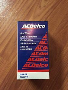 acdelco gf822 bypass fuel filter 1999 2003 corvette ebay. Black Bedroom Furniture Sets. Home Design Ideas