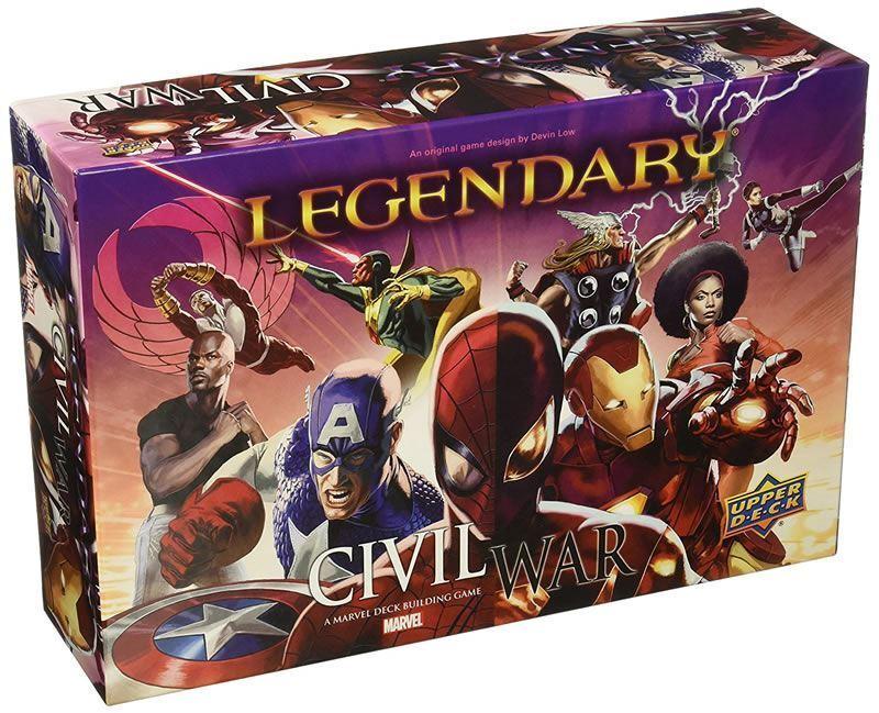 MARVEL LEGENDARY CIVIL WAR EXPANSION CARD GAME
