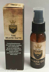 BY-MY-BEARD-Beard-Oil-30ml-Non-Greasy-Masculine-Frangrance-Soft-Hair-New