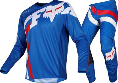 2019 Fox 180 Cota Motocross Kit Combo - Blue 30/m