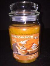 Yankee Candle American Home HOMEMADE PUMPKIN PIE 19 Oz Jar Candle
