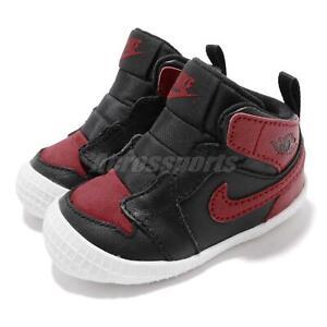 Nike Jordan 1 CRIB Bootie I AJ1 Bred