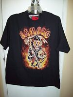 Sons Of Anarchy Samcro Black T-shirt Large