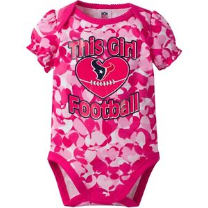 outfit football One Piece jersey Baby bodysuit Newest fan Houston Texans NFL
