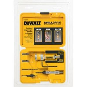 DEWALT Flip Drive Drill Screwdriver Bits Kit 12-Piece Countersink Quick Release