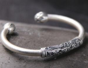 Viking bangle sterling silver medieval