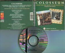 Colosseum   CD   THOSE WHO ARE ABOUT TO DIE SALUTE YOU / VALENTYNE SUITE