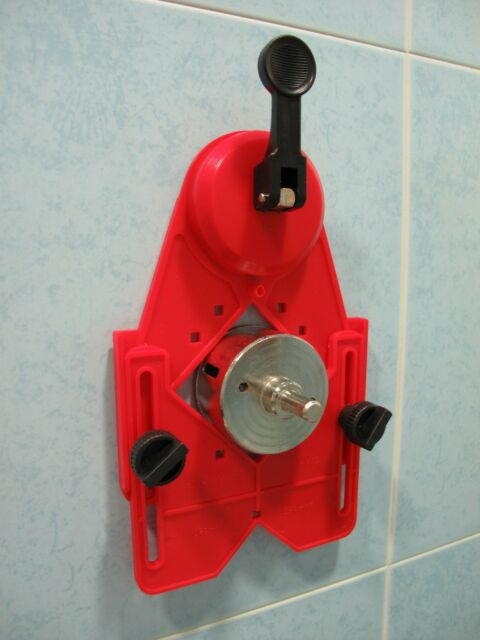 150 x 200mm ( 6 x 8 inch ) Drill Guide Holder hole saw drills with lifter sucker