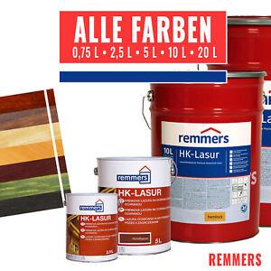 Remmers Aidol HK Lasur Holzlasur Holzschutz alle Farben 0,75, 2,5, 5, 10, 20 L