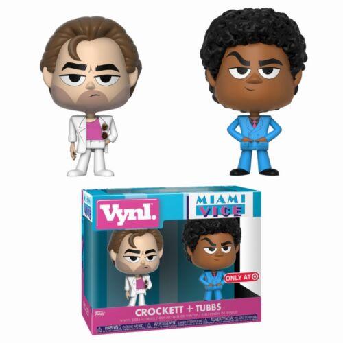Miami Vice Sonny Burnett Crockett Ricardo Tubbs 2-Pack Vynl Vinyl Figur Funko