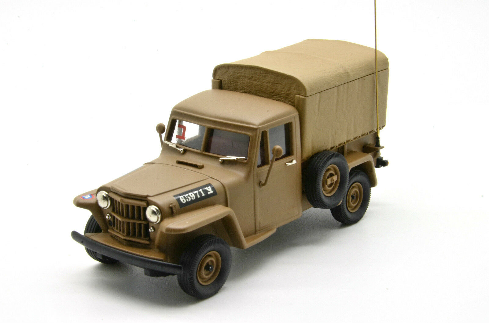rara    Willys Pick-up 1956 BRK. ISR 03 Ejército De Israel Brooklin 1 43 Lim. 100 piezas