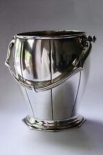 Edler Eiswürfelbehälter - Silber - Champagner-Kühler mit Punze BB 12G Weinkühler