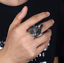 Triceratops Ring Size 10 Men/'s Brand New Gothic Punk