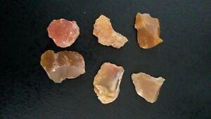 6 Flint Various Neolithic Prehistory Charente France Ui