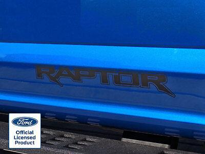 FORD RAPTOR F-150 SVT DOOR PAIR DECALS STICKERS VINYL GRAPHICS FITS 2017-2018