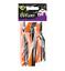 18x HALLOWEEN PLASTIC CUTLERY Disposable Orange Black Party Fork Spoon Buffet UK