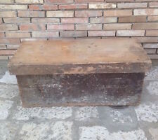 Antica cassa panca cassapanca dispensa baule in legno massello artigianale