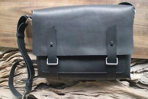 Men-039-s-real-leather-office-Briefcase-Laptop-Messenger-Shoulder-Bag-Satchel-large