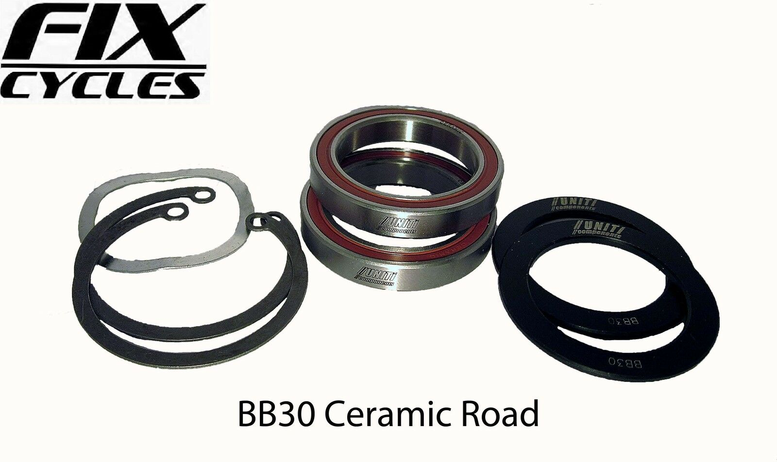 UNITI PRESS FIT BB30 in Ceramica Meccanismo centrale Shimano Sram MTB & STRADA