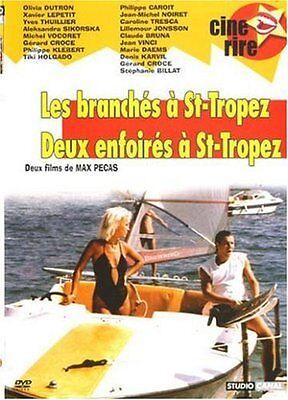 DVD 2 Film...Max PECAS...LES BRANCHES A ST TROPEZ + DEUX ENFOIRES A ST TROPEZ -3