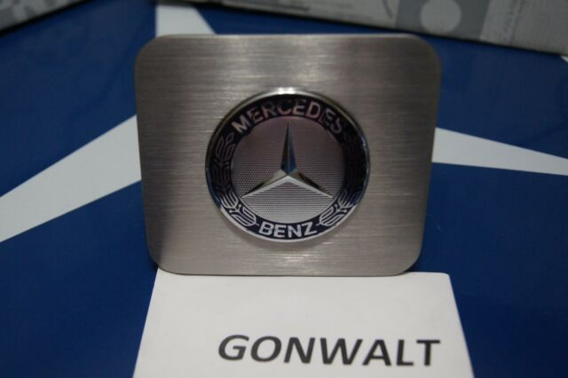 Mercedes Benz Hitch Cover Plug Stainless Steel GLE GLE400 GLE450 GLE550 GLE63