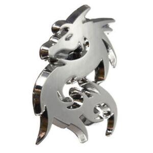 2pcs-Car-Silver-Metal-3D-Dragon-Emblem-Badge-Motor-Sticker-Decal-K5A8-A0D6