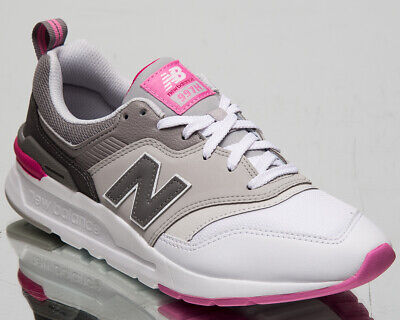 new balance 997h women's white candy pink casual lifestyle