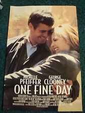 ONE FINE DAY - MOVIE POSTER WITH GEORGE CLOONEY AND MICHELLE PFEIFFER