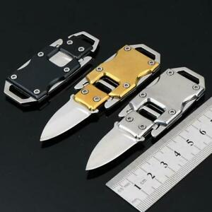 Keychain-Mini-Folding-Pocket-Knife-Outdoor-Survival-Stainless-Steel