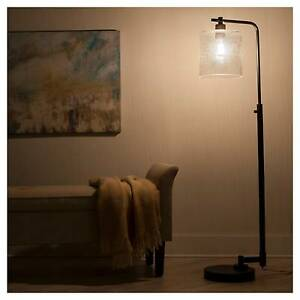 Hudson Industrial Floor Lamp - Ebony - Threshold™ | eBay