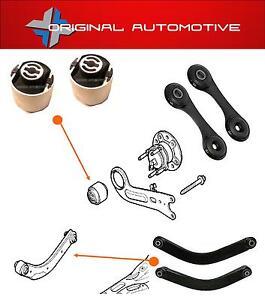 Se-adapta-a-Opel-Vectra-C-MKIII-02-08-trasero-se-arrastra-Brazos-de-suspension-arbustos-y-enlaces