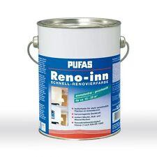 Pufas Reno-inn Schnell Renovierfarbe 2,5l Aromatenfrei, lösungsmittelhaltig