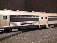 HO BROADWAY LIMITED 1149 Wabash Bluebird Baggage Car #650, HO. SHIP NEXT DAY
