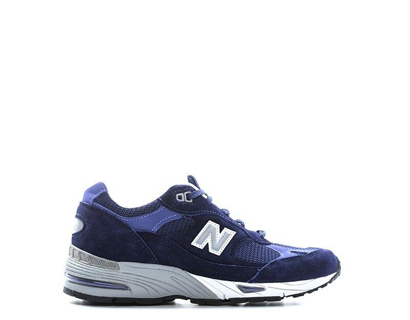 Los últimos zapatos de descuento para hombres y mujeres Barato y cómodo Scarpe NEW BALANCE Donna BLU Scamosciato,Tessuto W991DB
