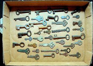 Key-Lot-Vintage-38-Different-Various-Sizes-Doors-Locks-Metal