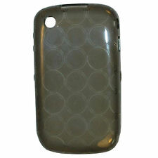 HQRP TPU (Polyurethane) Gray Case for Blackberry Curve 8520 8530 3G 9300 9330