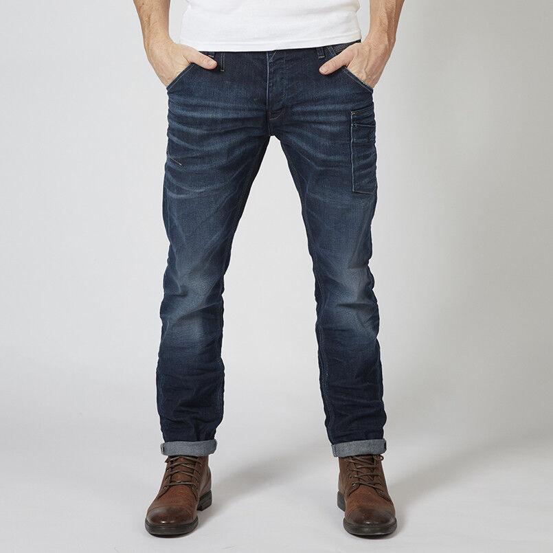 PETROL INDUSTRIES Mechanic Taperot Jeans Denim Dark Vintage 5801    Vielfältiges neues Design    Zuverlässige Leistung    Eine Große Vielfalt An Modelle 2019 Neue