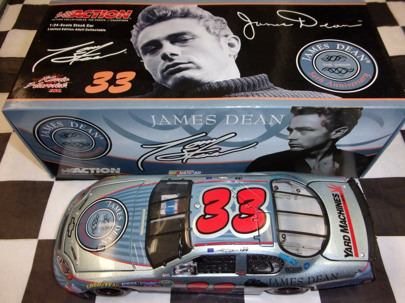 Tony Stewart James Dean 50th 2005 Monte Carlo NASCAR Action 1 24 scale car