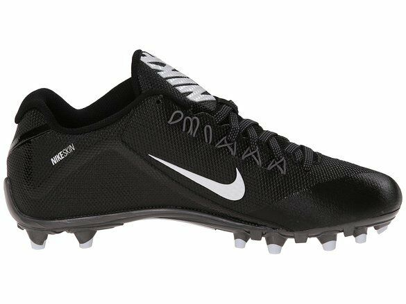 Mens 11,5 nike alpha (2     ii td football   lacrosse modellata scarpette nero   bianco | Altamente elogiato e apprezzato dal pubblico dei consumatori  e18dec