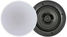 "Ceiling Speaker 8ohms Or 100v  Adastra Lp6v 6.5"" Low Profile White LP6V"